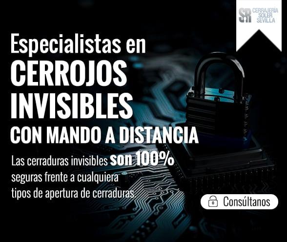 Especialistas en Cerrojos Invisibles con Mando a Distancia