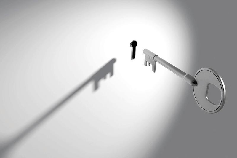 cerrojos invisibles con mando a distancia